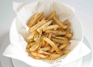 Bowl of French Seasoned French Fries