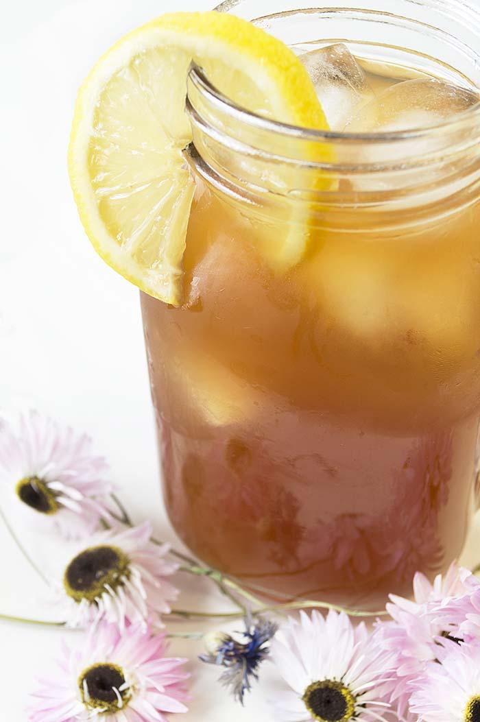 Homemade Lemon Iced Tea Vegan Daydream