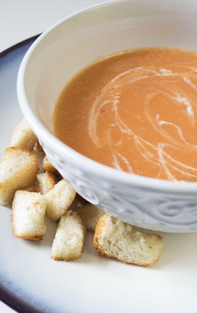Vegan Homemade Tomato Soup