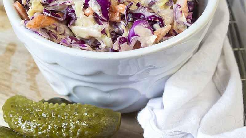 Vegan Coleslaw You Will Love!